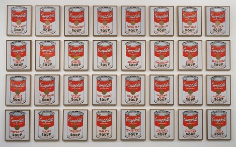 The Art of Copying Art - Fig.5 - Campbell's Soup Cans