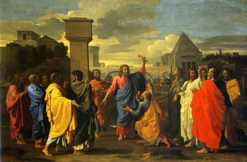 Fig.1 Nicolas Poussin, 1647, The Sacrament of Ordination