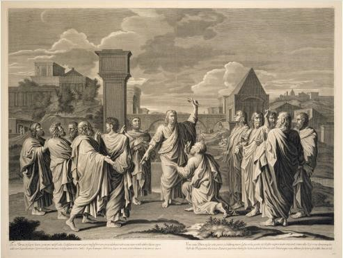 Fig.2 Jean Pesne, The Sacrament of Ordination