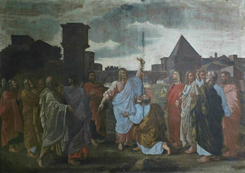 Figure 3 Unknown Artist, Copy after Nicolas Poussin's The Sacrament of Ordination