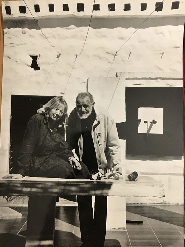 Figure 2 Victor Pasmore and his wife