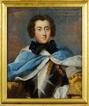 Figure. 2 Le Chevalier Jean-Philippe d'Orléans (1702 - 1748),